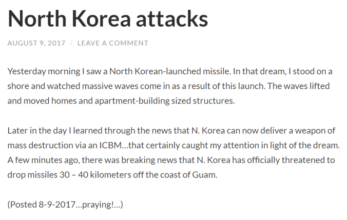 North Korea attacks