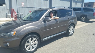 Beth picked a Mitsubishi Outlander.
